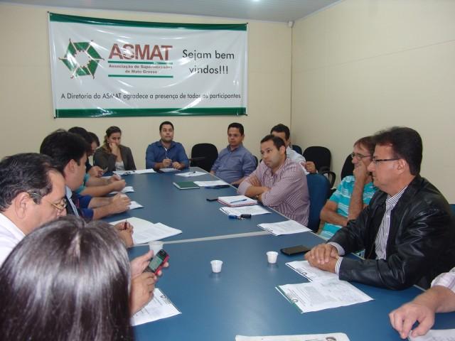 Reunião Diretoria da ASMAT - 28.06.16.