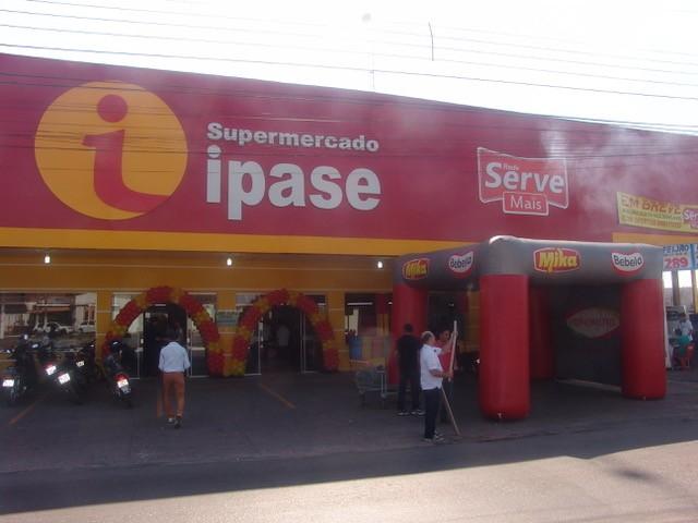 Supermercado Ipase é inaugurado em Várzea Grande
