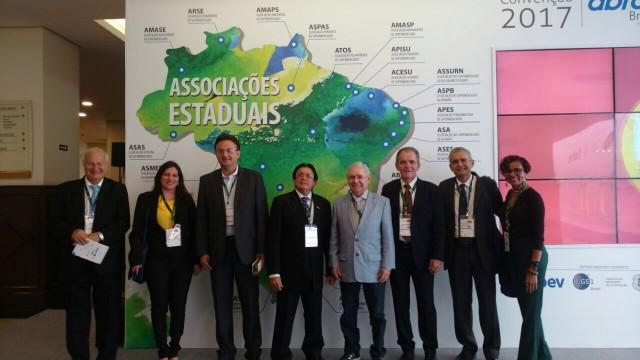 Representantes da ASMAT marcam presença na Convenção ABRAS 2017