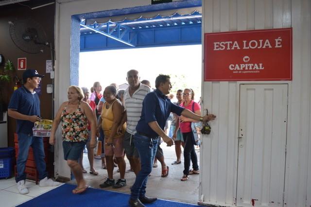 Supermercado América reinaugura em Cuiabá com muitas promoções