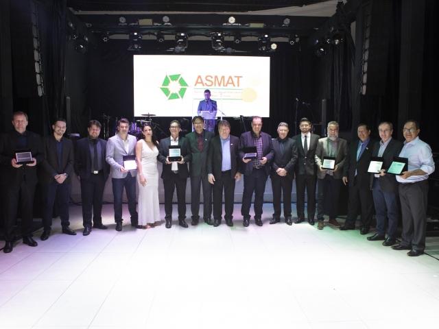 Jantar ASMAT 2019 - Associação premia fornecedores e lança Expo-Ecos 2021!