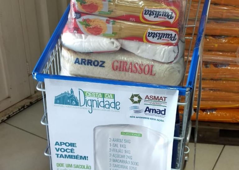 Supermercadistas e atacadistas participam da campanha em prol dos funcionários da Santa Casa