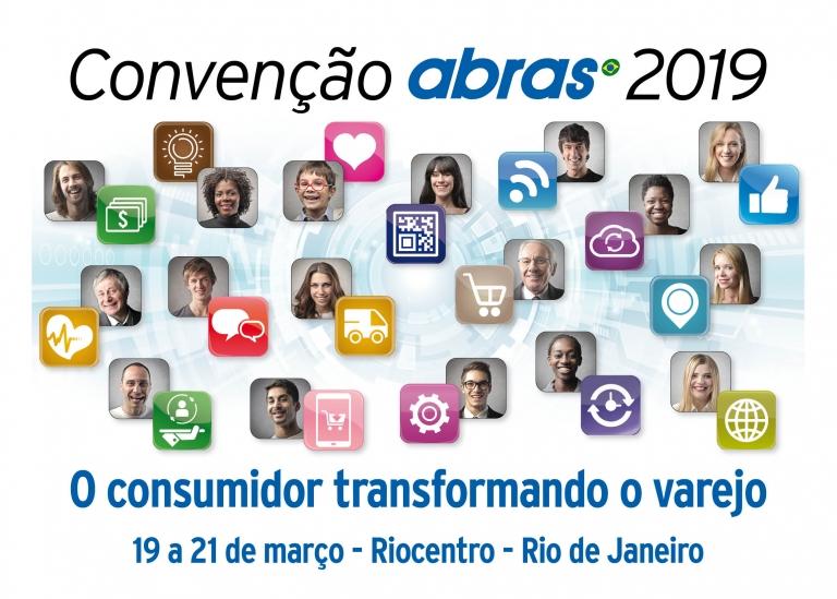 CONVENÇÃO ABRAS REÚNE LÍDERES SUPERMERCADISTAS A PARTIR DO DIA 19/3 NO RJ