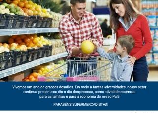 Parabéns Supermercadistas! 12.11 Dia Nacional do Supermercados!