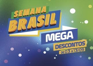 Semana Brasil 2021 começa nesta sexta com descontos de até 70%