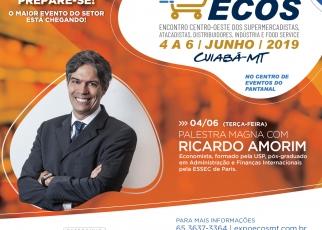 Expo-Ecos 2019 terá palestra magna com economista Ricardo Amorim